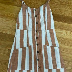 striped forever 21 dress